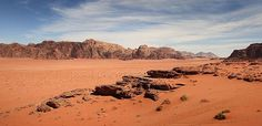 Jordan Wadi Rum - part of the world's most surreal landscapes