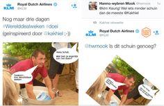 KLM vliegt er droog in (via De Beste Social Media)