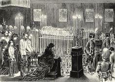 Die Kaiserliche Familie trauert um Erzherzogin Sophie.