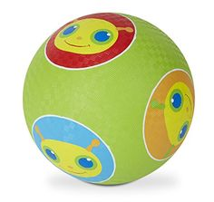 Melissa And Doug Melissa & Doug Sunny Patch Giddy Buggy Ball - The Sunny Patch Giddy Buggy Ball is great for backyard fun or playing games in the park. Have fun kicking this bug print ball around with a friend or practicing your soccer skills. Best Outdoor Toys, Outdoor Toys For Kids, 4 Year Old Boy, Soccer Skills, Melissa & Doug, Gross Motor Skills, Backyard Games, Classic Toys, Old Boys