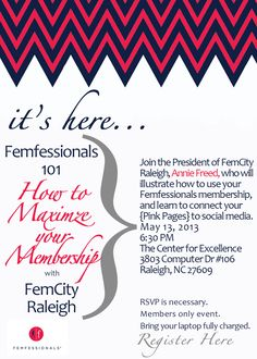 Femfessionals 101 Maximize Your Membership
