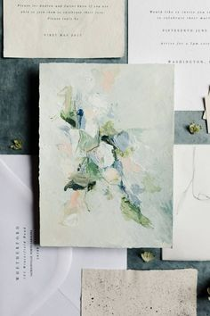 Painting Inspiration, Art Inspo, Color Inspiration, Invitation Design, Invitations, Wedding Stationery, Abstract Art, Illustrations, Art Prints