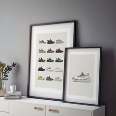 Find the perfect poster for every Sneakerhead in our shop!⁣ ⁣ #yeezy #adidas #nike #sneakers #hypebeast #streetwear
