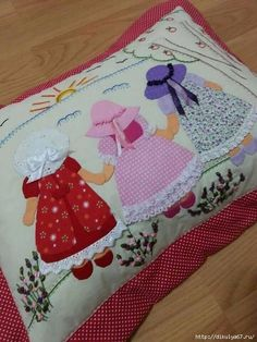 Crafts:Quilting-Doll, Sunbonnet Sue, Overall Bill(Sam),& Angels Quilts Applicates Quilt Patterns Free, Applique Patterns, Applique Quilts, Applique Designs, Embroidery Applique, Sunbonnet Sue, Crazy Quilting, Patchwork Quilting, Quilt Baby