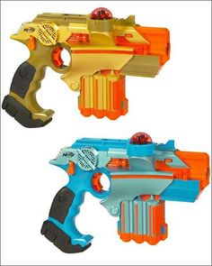 So why are these laser tag guns the best? Because they actually zap you with an electric shock when you get shot.