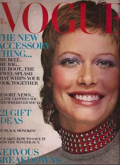 Vogue November 1970 Susanna Agnelli - Shrimpton - Charlotte Rampling -Snowmass