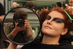 Aurora da minha vida: Bastidores - Fotografia de Moda e Styling