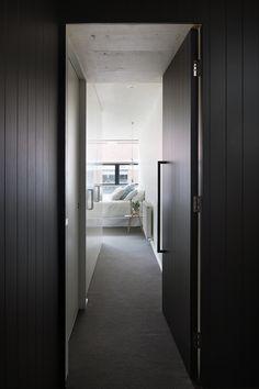 Bedroom Woth Black Door