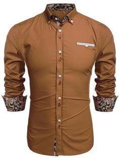 Coofandy Men's Fashion Slim Fit Dress Shirt Casual Shirt  COOFANDY  From $19.99