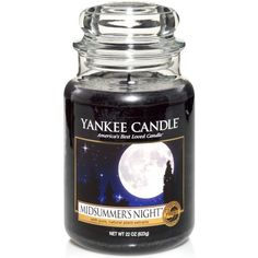 Yankee Candle Large Jar Candle ($22) ❤ liked on Polyvore featuring home, home decor, candles & candleholders, midsummer night, cupcake home decor, flower stem, yankee candle, flower home decor and scented jar candles