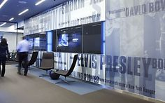 Environmental Graphics for MSG Media: Designed by Poulin + Morris