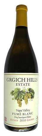 "2010 Grgich Hills Estate ""Fume Blanc"" Sauvignon Blanc, Napa    Visitors to Napa Valley, even those on their first trip, have a hard time missing the Grgich Hills winery, which sits prominently on the west side of Highway 29, its flower beds almost pushed right up against the edge of the blacktop.    Of course, when the winery was established in the late 1970s there was a lot less traffic on that same highway, and founder Miljenko ""Mike"" Grgich (pronounced ""gur-gich"")was a young man."