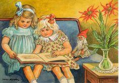 Jenny Nystrom (1854 – 1946, Swedish) | I AM A CHILD