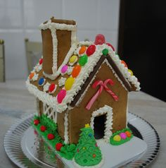 Nosso Kit Gingerbread House!