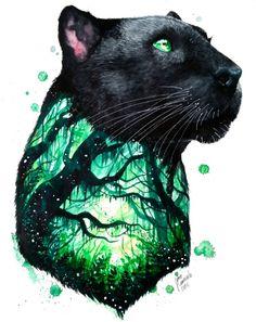 Black Panther by Jonna Lamminaho
