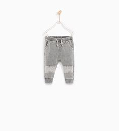 ZARA - KIDS - TROUSERS WITH KNEE SEAM