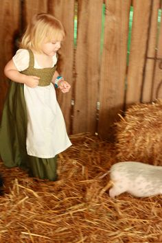 Baby Ren Faire, perfect for chasing pigs!!