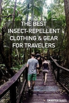 At best, bug bites are an itchy nuisance. At worst, they could expose you to serious diseases. Protect yourself with insect-repellent clothing and gear. Mosquito Repellent Clothing, Mosquito Repellent Bracelet, Best Insect Repellent, Rocky Mountain Spotted Fever, Mosquito Protection, Bug Bite, Tropical Vacations, Hiking Trips