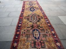 AN Attractive OLD HAND MADE PERSIAN Nehavend Oriental Runner 455x115 cm 15x3'10