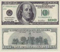 Money Template, Bill Template, Templates, Fake Dollar Bill, Half Dollar, Printable Play Money, Dollar Money, Dollar Bills, The 100