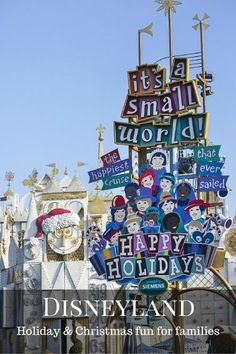 Holidays and Christmas at Disneyland and Disney California Adventure - your guide to the holiday magic Disneyland Christmas, Disneyland Vacation, Disney Vacation Planning, Disney Vacations, Disney Trips, Holiday Fun, Christmas Holidays, Disneyland Tips, Winter Holiday