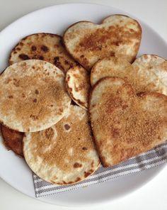 Kaneelsuiker tortilla koekjes