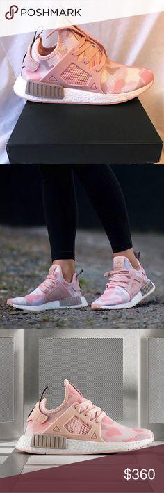 2016 Cheap Adidas Originals NMD R1 Primeknit Camo Pink For Sale
