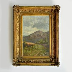 Landscape by Wm. H. Beard (Landscape by Wm. H. Beard (the painter known for his anthropomorphic animal paintings)