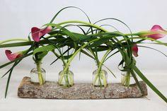 Ook heeft de Calla verschillende symbolische betekenissen. Hij wordt gezien als bloem van zuiverheid en sympathie en staat voor schoonheid. Ook ziet men de Calla als geluksbloem, genoeg redenen om te kiezen voor de Calla! #snijgroen #decoratiegroen #gras #lillygrass #inspiratie #boeket #arrangement #Calla #Typha