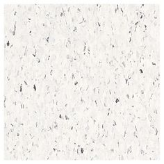 "Mid Century Modern Flooring Armstrong 12"" x 12"" Cirque White Chip Pattern Commercial Vinyl Tile"