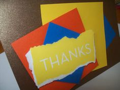 Thank You Card  Thanks Card  Greeting Card  by SilverCloudDelights, $4.00