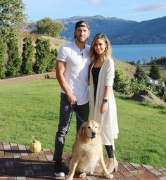 Shawn Booth, Kaitlyn Bristowe, and Doodle<3