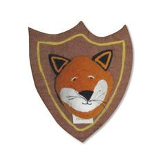Sew Heart Felt Fox Felt Shield