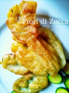 In Cucina con Mamma Agnese: Tempura di Fiori di Zucca e Salvia  - Golosi incal...