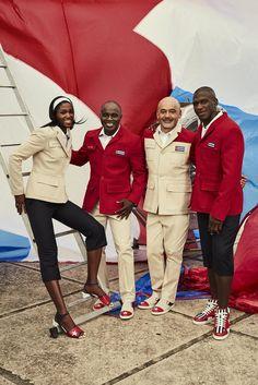 En collaboration avec le label français, Sporty Henri, le designer Christian Louboutin a imaginé les tenues de gala de l'équipe olympique cubaine. Et elles sont superbes !