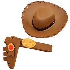 Toy Story 3 Woody Costume Accessory Set for Boys.  Mi vaquero tiene también sus accesorios para sentirse todo un Woody! :P