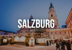 Why should someone visit the city of salzburg in winter of all seasons? World Trade Center, Salzburg, New York Sightseeing, Interesting Facts About Yourself, Can You Can, Photo Walk, Reisen In Europa, Personal Photo, Fun Facts