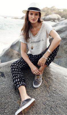 How to style Shorewalk Pants in Moroccan Floral