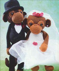 Haakpatroon Bruidspaar Fien en Freddie