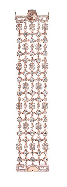 Jacob & Co.'s Jezebel Collection Bracelet with Round Cut Diamonds #JacobArabo #JacobandCo. #bracelet #rosegold #roundcutdiamonds #diamond #jezebel