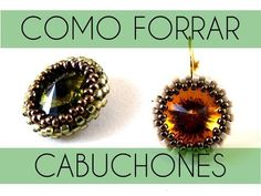 DIY Tutorial | Come incastonare un cabochon con la tecnica RAW (right angle weave) - YouTube