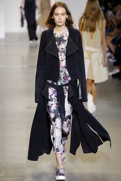Calvin Klein Collection, Look #12; coat