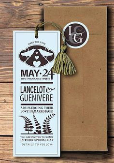 Save-the-Date 'Bookmark'