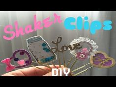 Tutorial: Shaker paper clips (done the same way you create a shaker card)