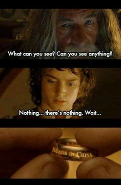 Lord of the Rings jokes (memes) ✓ - Made in China Movie Memes, Memes Br, Cute Jokes, Stupid Funny Memes, Funny Asian Jokes, Asian Humor, Dessin Game Of Thrones, O Hobbit, Learn Chinese