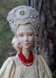 Василиса 2 Russian art doll