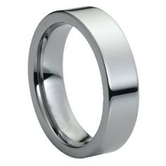 6mm High Polish Flat Pipe Cut Tungsten Carbide Comfort Fit Wedding Band Ring (Sizes 5 to 15) Forever Flawless Jewelry. $17.95. Free Gift Box with Every Purchase. Hypoallergenic. 30 Day Money Back Guarantee. Virtually Indestructible and Scratch Proof. Comfort Fit