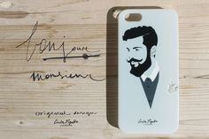 Why this case is it different?  Because...  - It is made in Italy  - It is a limited edition  - It is an original illustration created, that I've drawn and then recreate by Illustrator  - It is a 2D print  - it is in a resistant rigid PVC material  For iPhone 5 - 5s - 5c - 4 - 4s. Samsung Galaxy S3