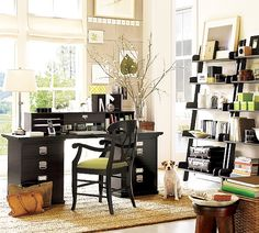 Great Home Office Ideas Like The Style Of This Room I