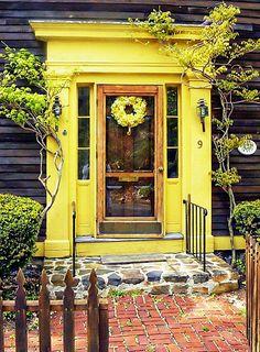 New England door in Marblehead,MA   Flickr - Photo Sharing!